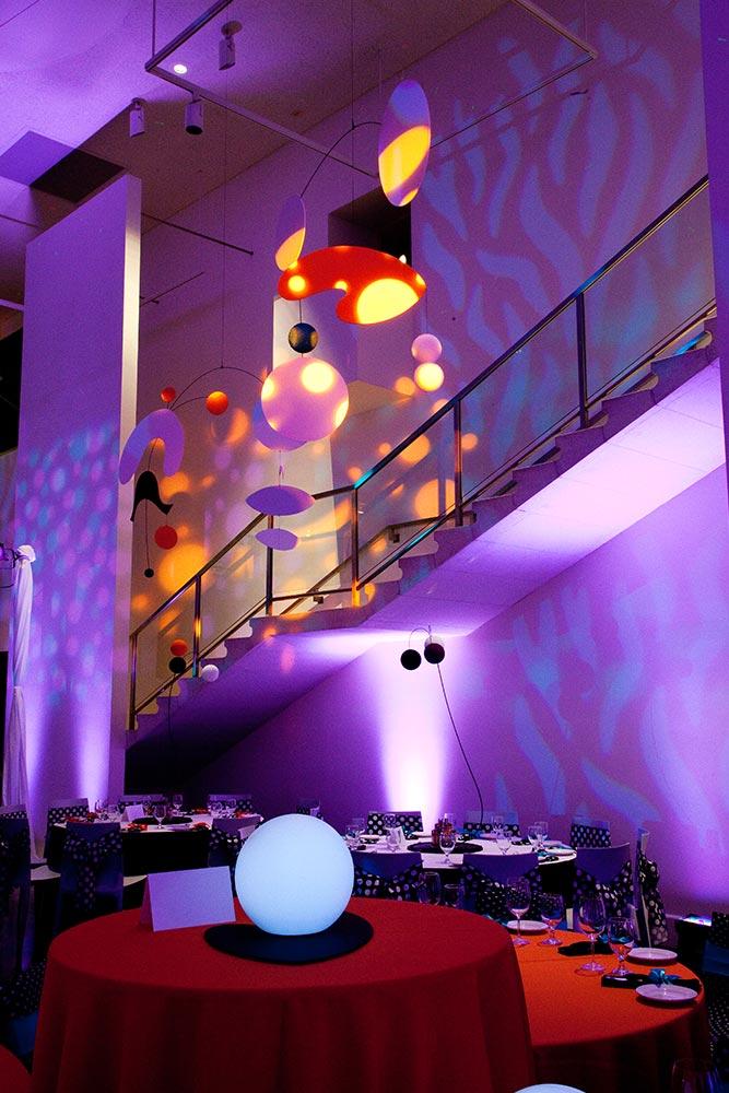 Mitzvah Event Lighting Design