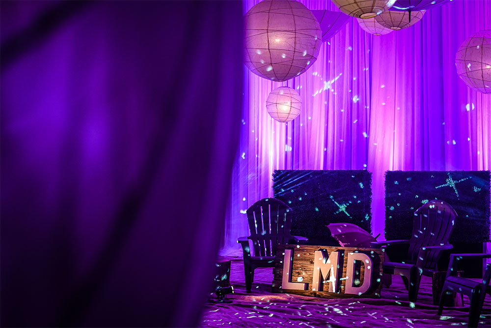 About LMD Productions - Lighting Design and Draping