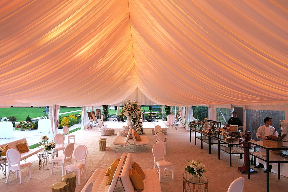 Wedding Backdrop designed by LMD Productions