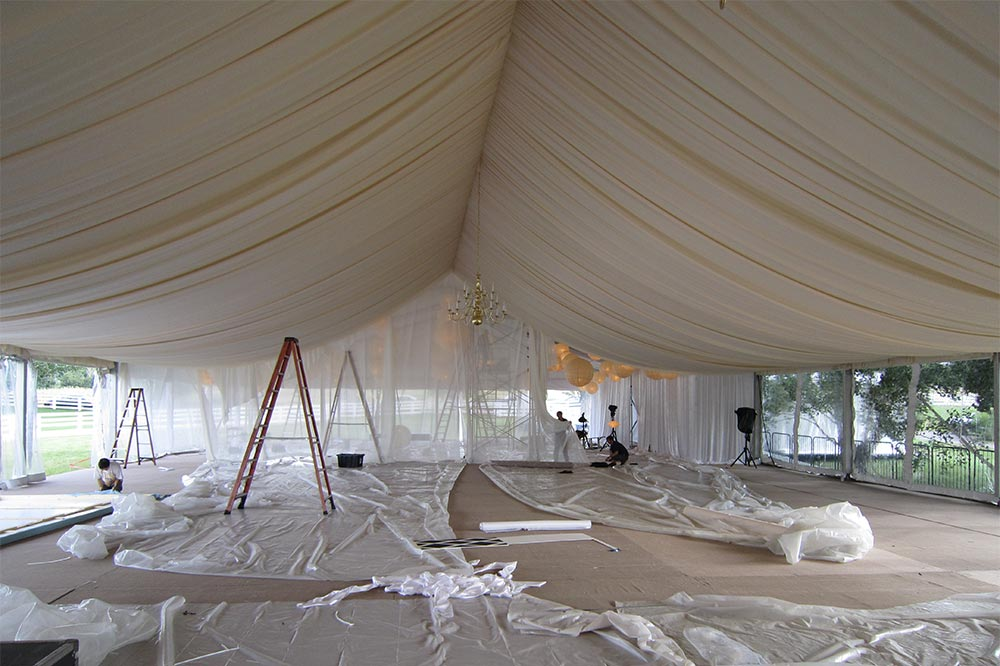 Wedding Tent Transformation - Summertime Wedding with LMD Productions